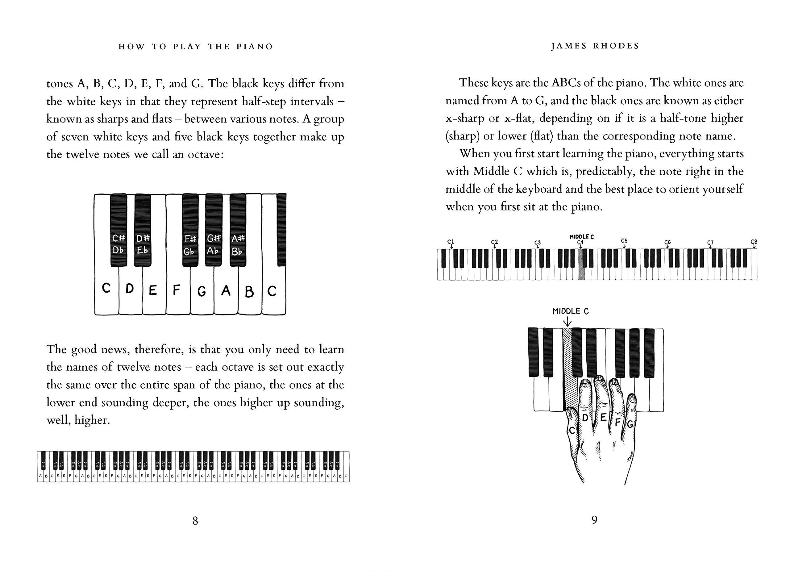 How To Play The Piano: Amazon.es: Rhodes James: Libros en idiomas  extranjeros