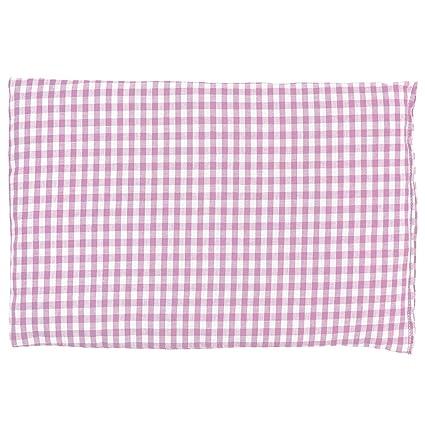 Almohada térmica de semillas 30x20cm (algodón orgánico rosa ...