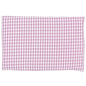 Saco térmico de semillas 30x20cm (algodón orgánico rosa y blanco ...