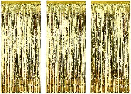 Foil Door Curtain Tinsel Decor Birthday Party Wedding Venue Decoration Back Drop