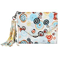 Creature MultiColor Stylish Women's Small Clutch With Multiple Card Slots (Color-Multi||SCL-02)