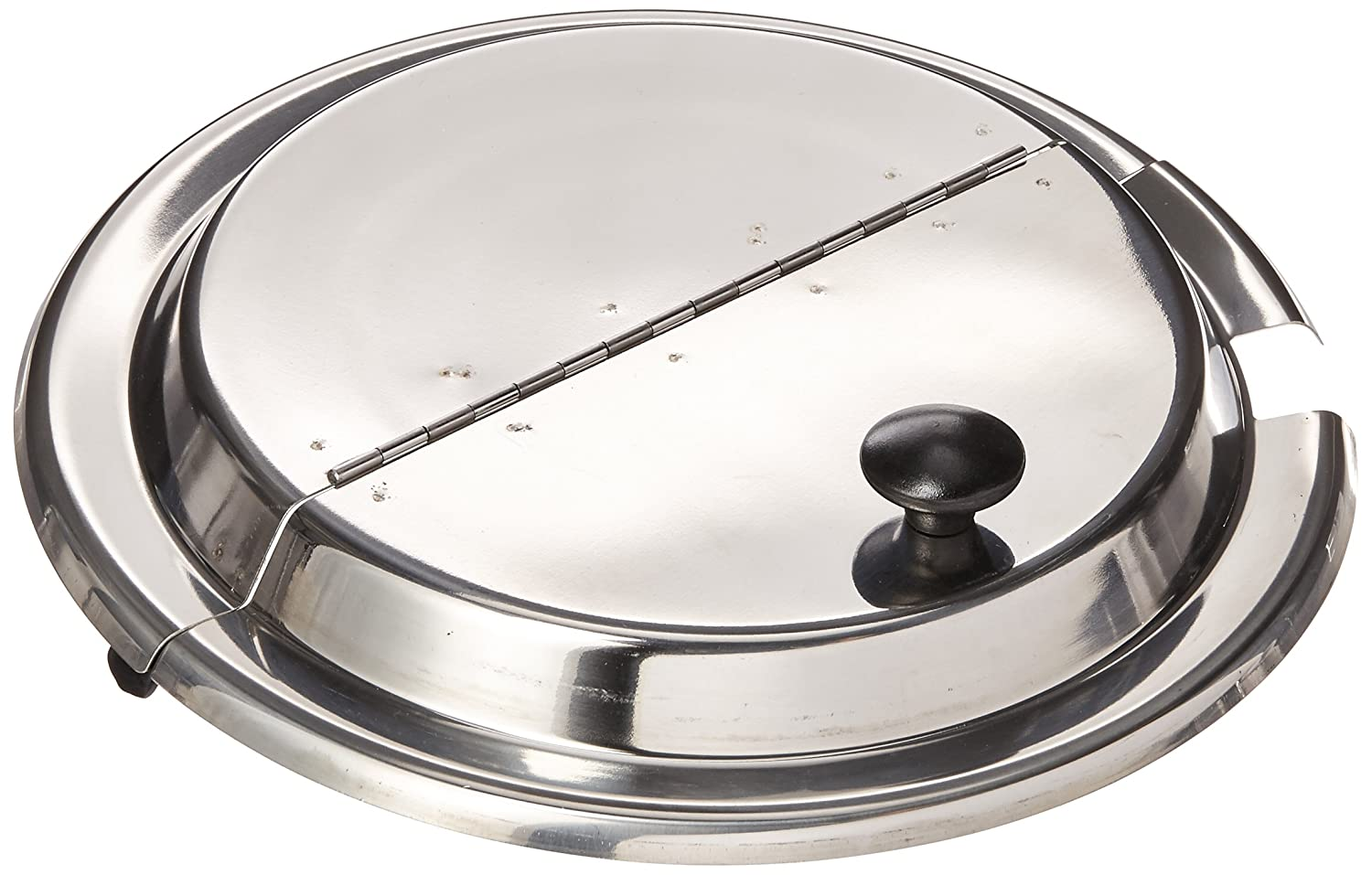 Winco INSH-11 Hinged Cover, 11-Quart, Stainless Steel Winco USA 14556-14189