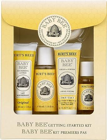 适合凑单,Burt's Bees 小蜜蜂 新生儿套装 $9.62 到手¥90