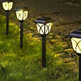 Solpex Solar Pathway Lights Outdoor LED Solar Garden Lights Waterproof Solar Landscape Lights for Lawn Patio Yard Garden…