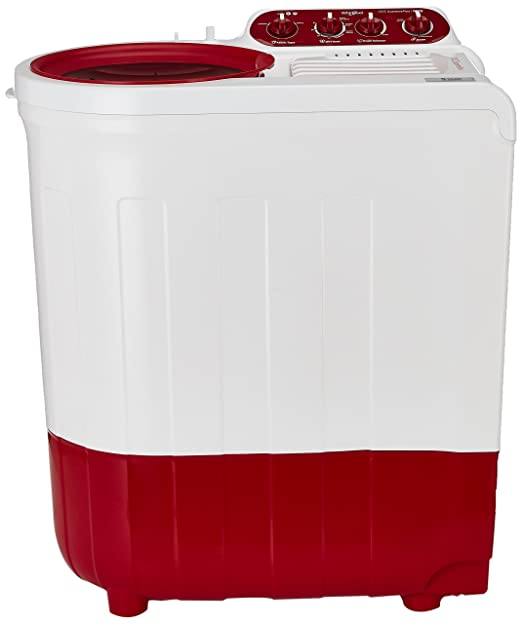Whirlpool 7 kg Semi Automatic Top Loading Washing Machine  Ace 7.0 Supreme Plus, Coral Red  Washing Machines   Dryers