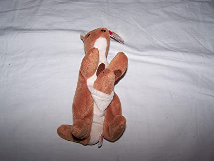 39a281d5372 Image Unavailable. Image not available for. Color  TY Beanie Baby Pouch the  Kangaroo