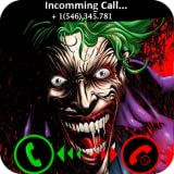 Evil Halloween clown fake call