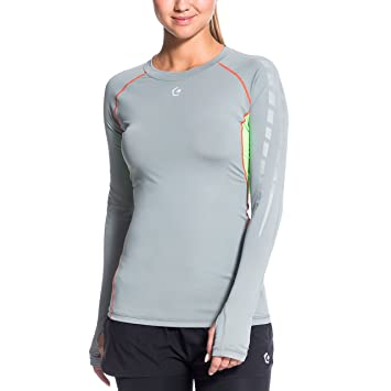 Gregster Coleen Camiseta Deporte, Mujer, Gris, M: Amazon.es: Deportes y aire libre