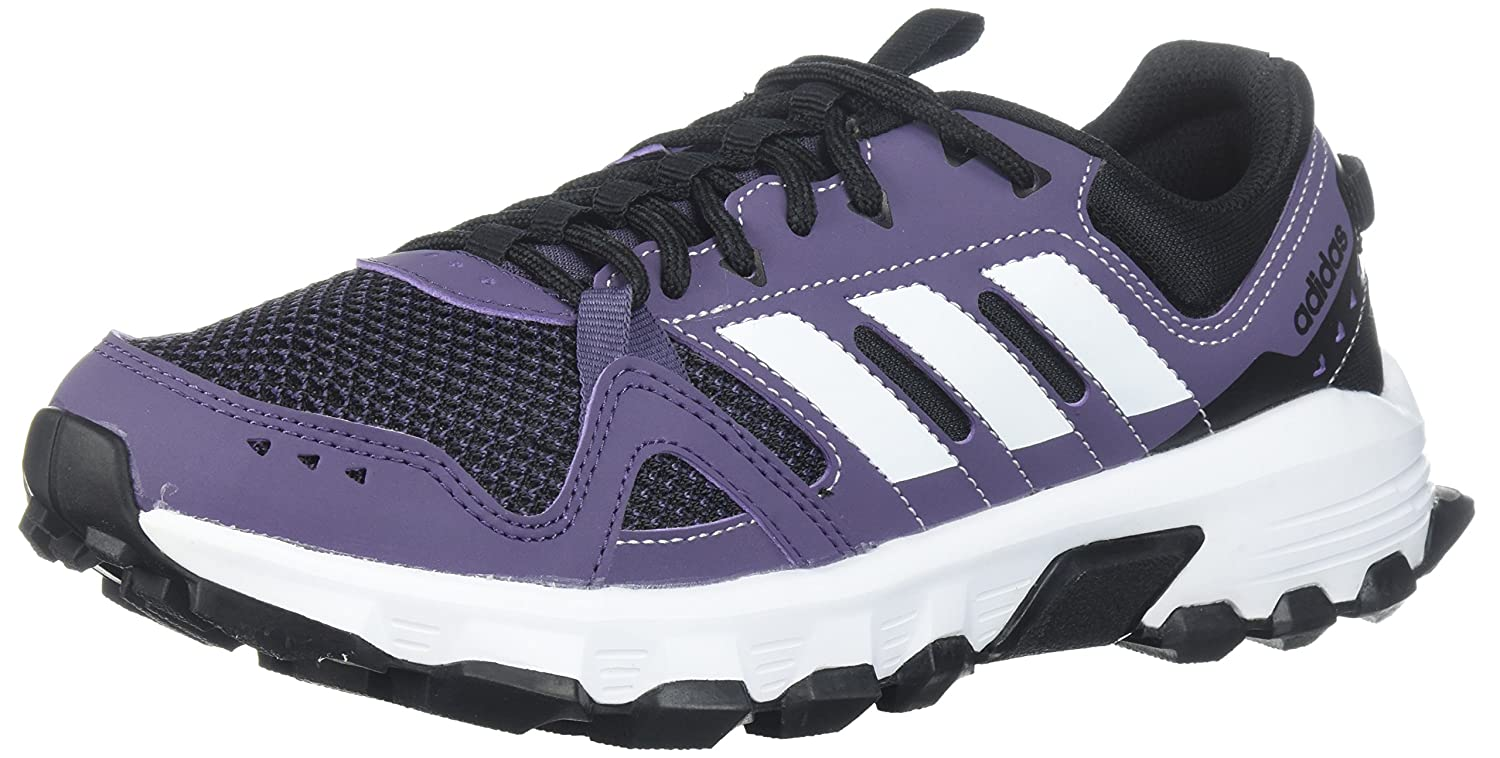 adidas Women's Rockadia W Trail Running Shoe B071S7L4XJ 10.5 B(M) US|Trace Purple/White/Core Black