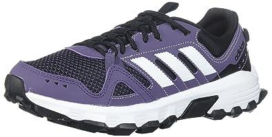 online retailer 1d5b4 d26f9 adidas Performance Womens Rockadia w Trail Running Shoe, Trace  PurpleWhiteCore Black