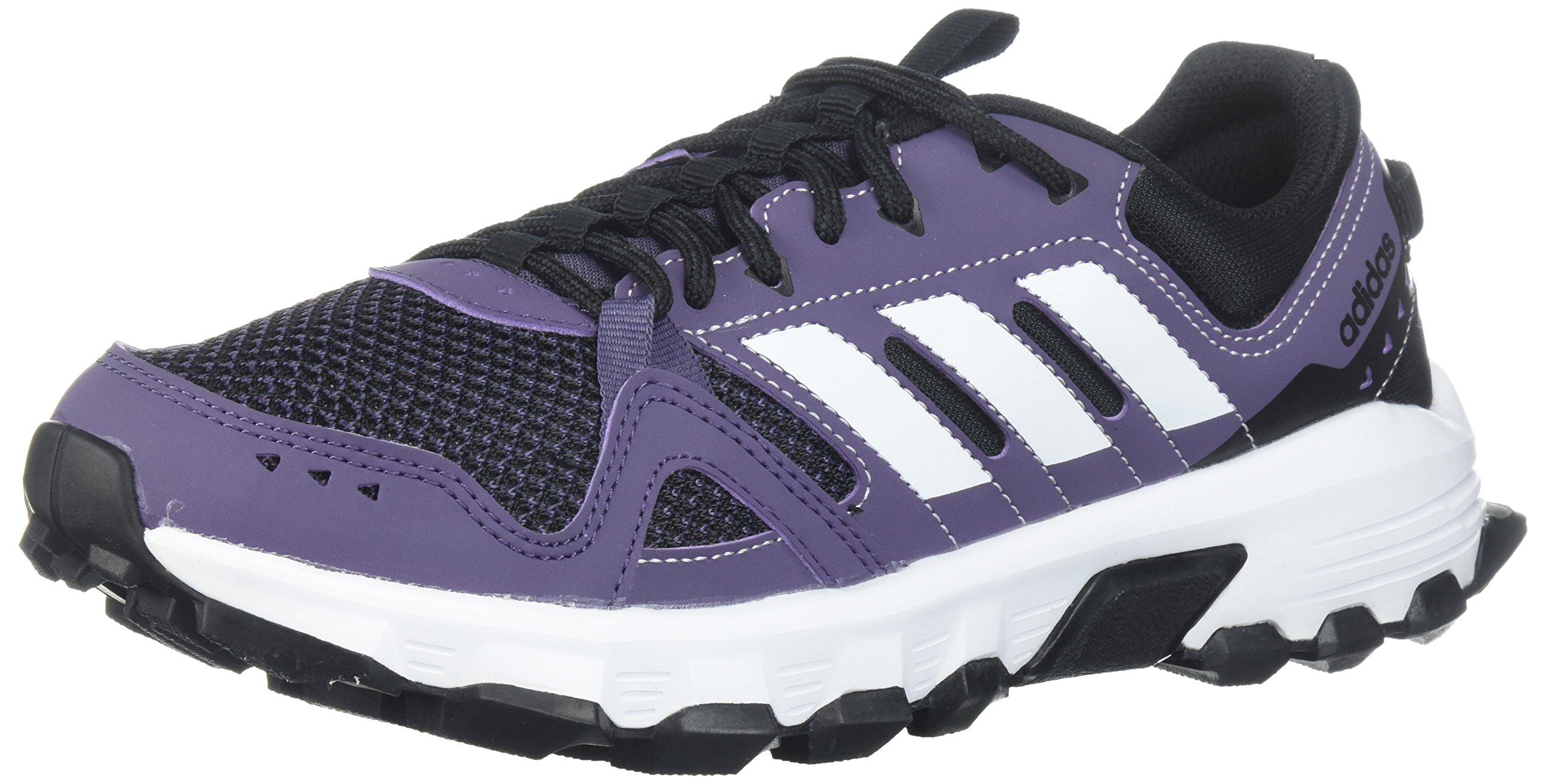 adidas Women's Rockadia w Trail Running Shoe, Trace Purple/White/Core Black, 7 M US by adidas (Image #1)