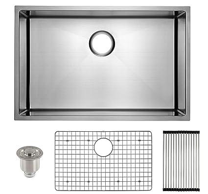 Frigidaire Undermount Stainless Steel Kitchen Sink, 10mm ...