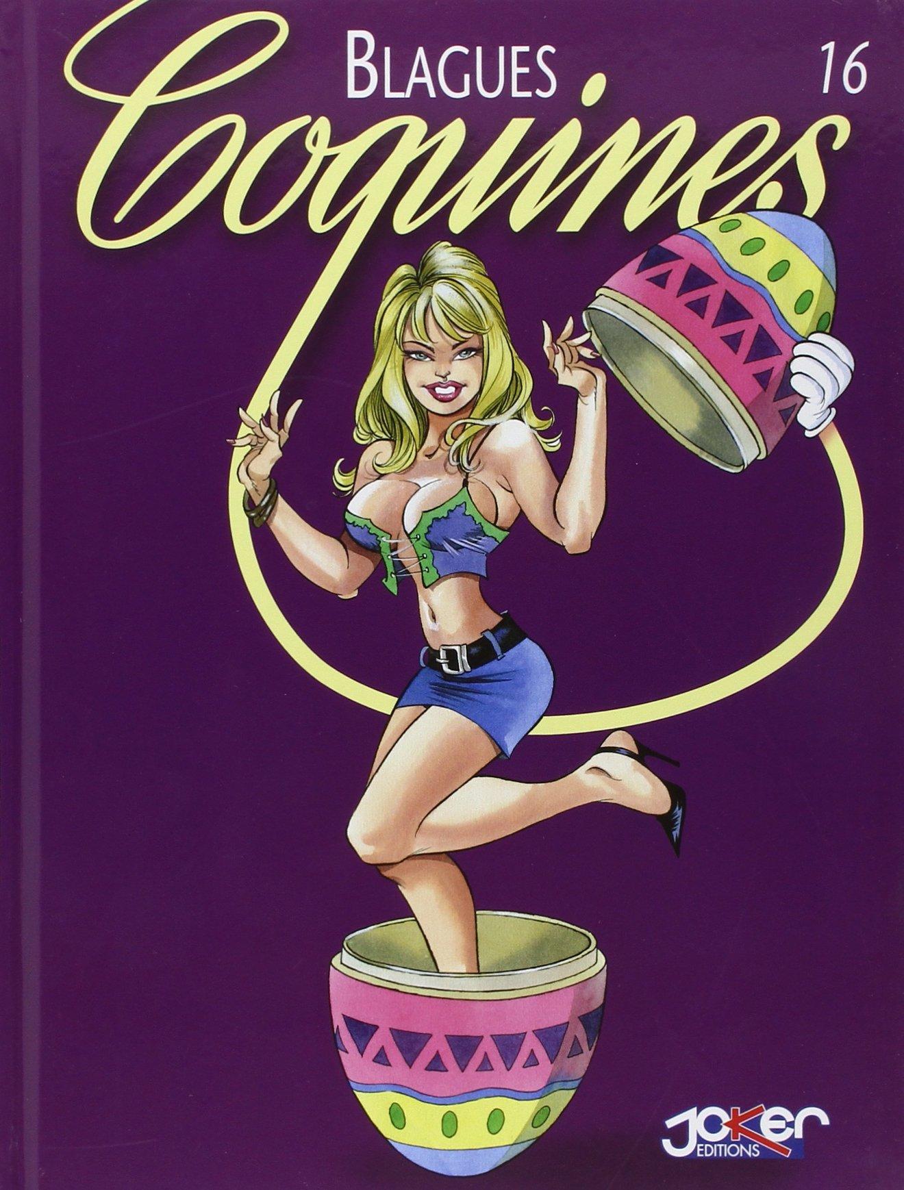 Blagues coquines, tome 16 Album – 30 mars 2006 Barzi Gürsel Marti Widenlocher