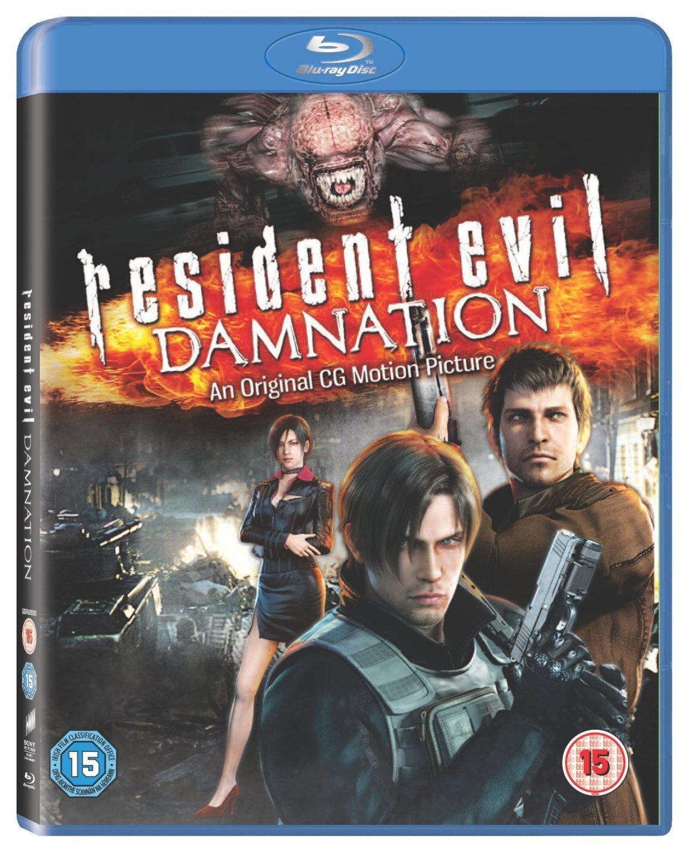 Amazon Com Resident Evil Damnation Blu Ray Region Free Movies Tv