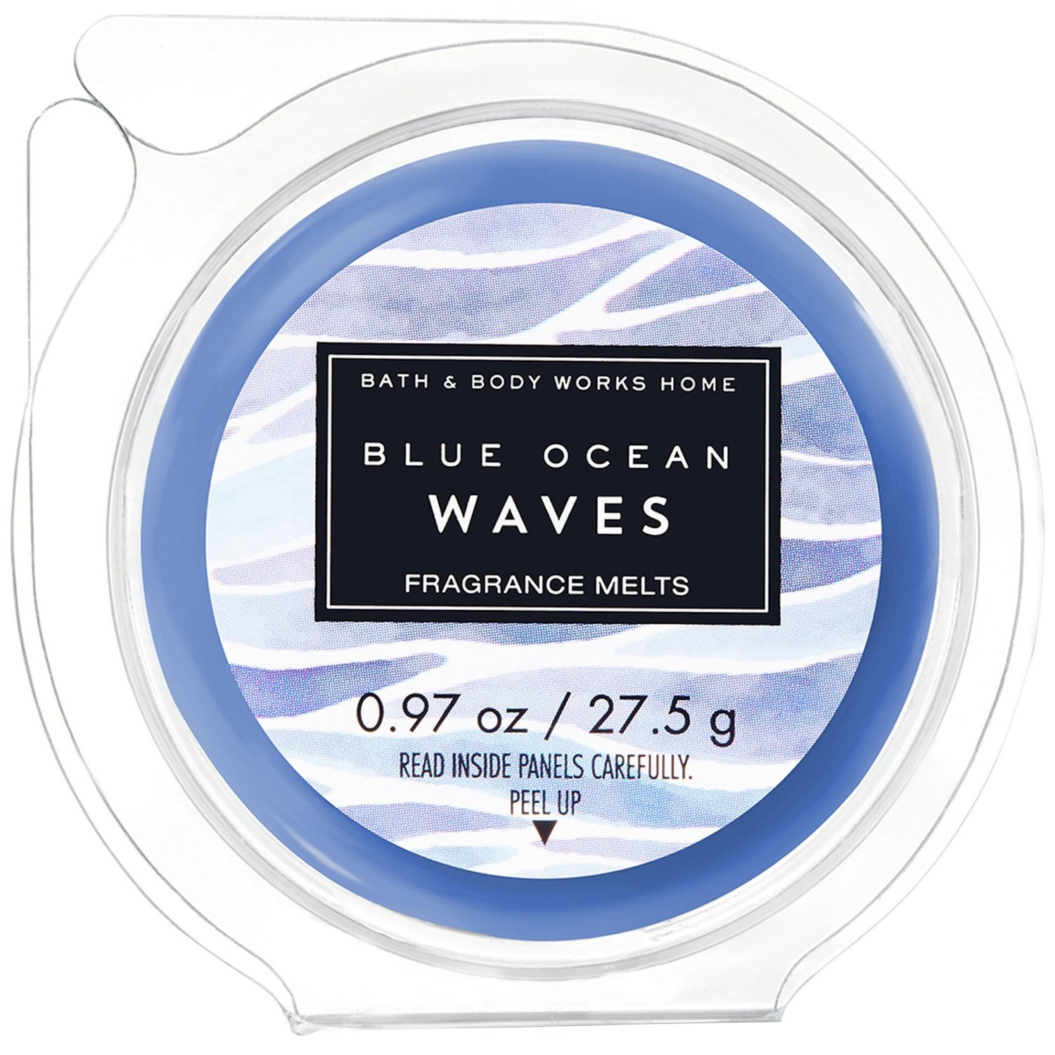 Bath & Body Works Wax Home Fragrance Melt Blue Ocean Waves