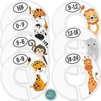 zoo animals closet divider set
