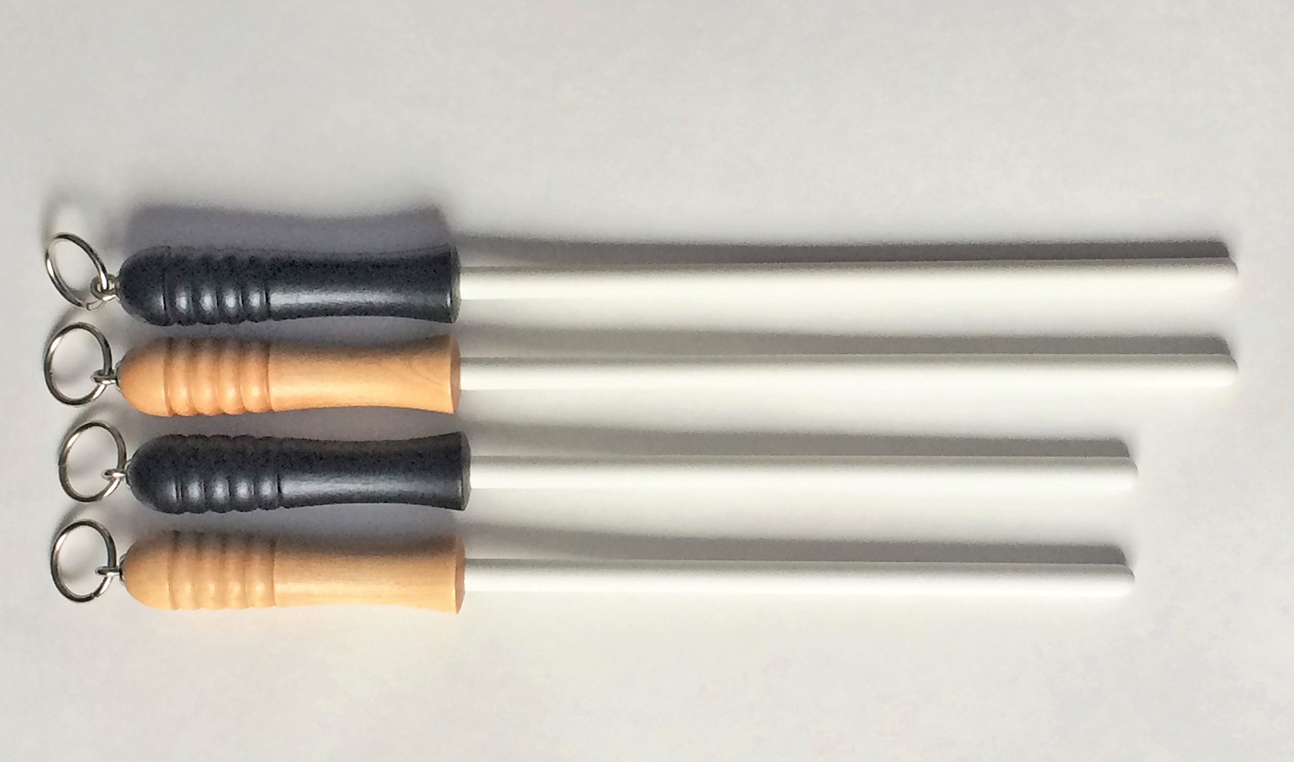 Idahone Fine Ceramic Sharpening Rod (12'', Natural Handle)