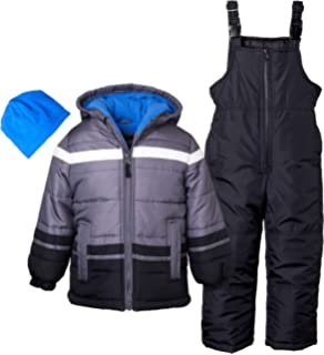 88f843d6e523 Amazon.com  Snowsuits for Kids Girl s 3-Piece Fleece Lined Active ...