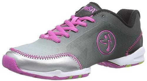 Zumba Footwear ZUMBAFLEX Classic - Zapatillas Deportivas de Material sintético Mujer, Color Plata, Talla 35.5: Amazon.es: Zapatos y complementos