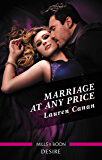 Marriage at Any Price (The Masters of Texas)
