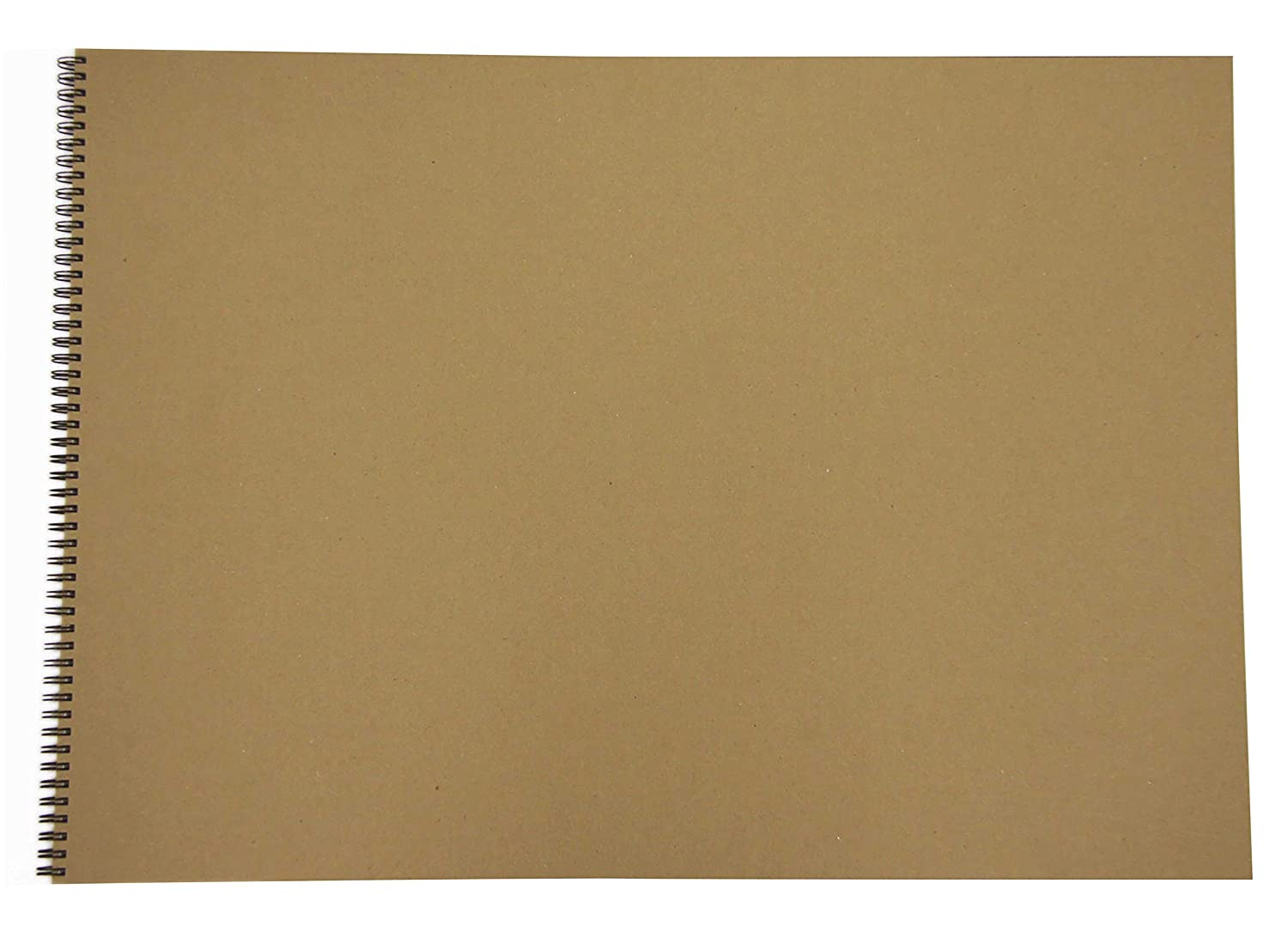 A2 recycled sketch book, 40 sheets (80 sides) of 170gsm recycled cartridge paper, hard covers