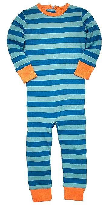0e3ffbb48bbf Amazon.com  EscapeeJays Blue Striped Cotton Escape-Proof Pajamas ...