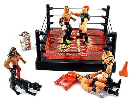 Amazon.com: XTR mundo Hardcore Champion Wrestling Figura de ...