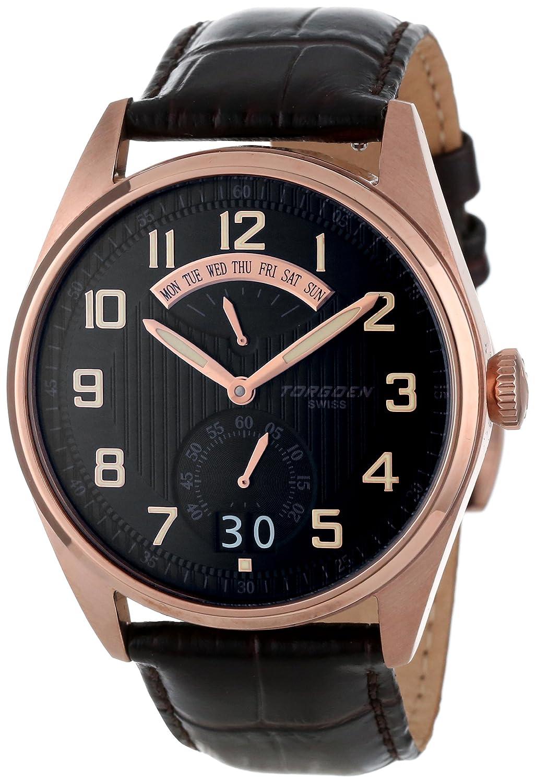 Torgoen Swiss Men s T29104 T29 Retro-Grade Aviation Watch