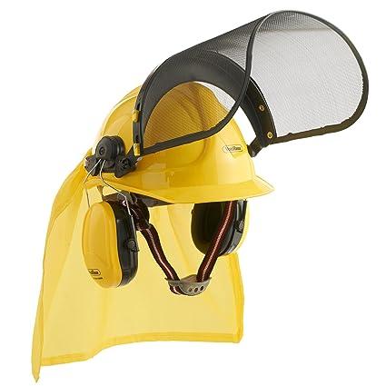 VonHaus - Set de casco forestal 4 en 1 para construcción/moto sierra/trabajo