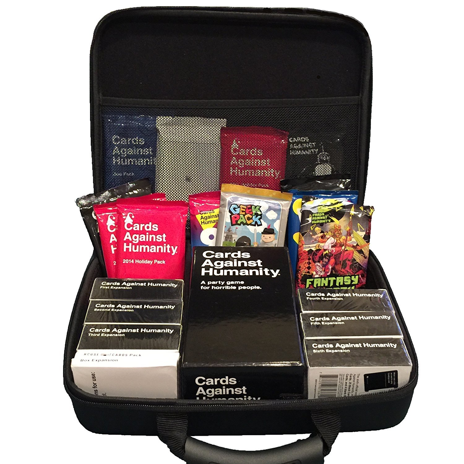 Portable Card Game Case for 2,200+ Cards. Fits Main Game and All Expansions (Extra Large) by CaseStache