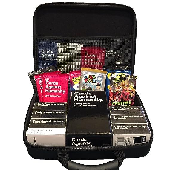 Amazon.com: Estuche de juego de tarjetas portátil para más ...