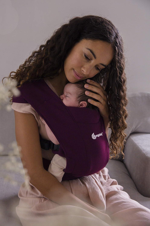 Ergobaby Babytrage f/ür Neugeborene ab Geburt Extra Weich Embrace Bauchtrage Baby-Tragetasche Ergonomisch Blush Pink