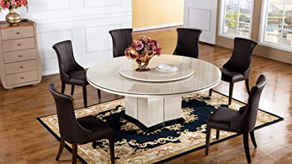 Amazoncom American Eagle Furniture H61 Faux Marble Top Round
