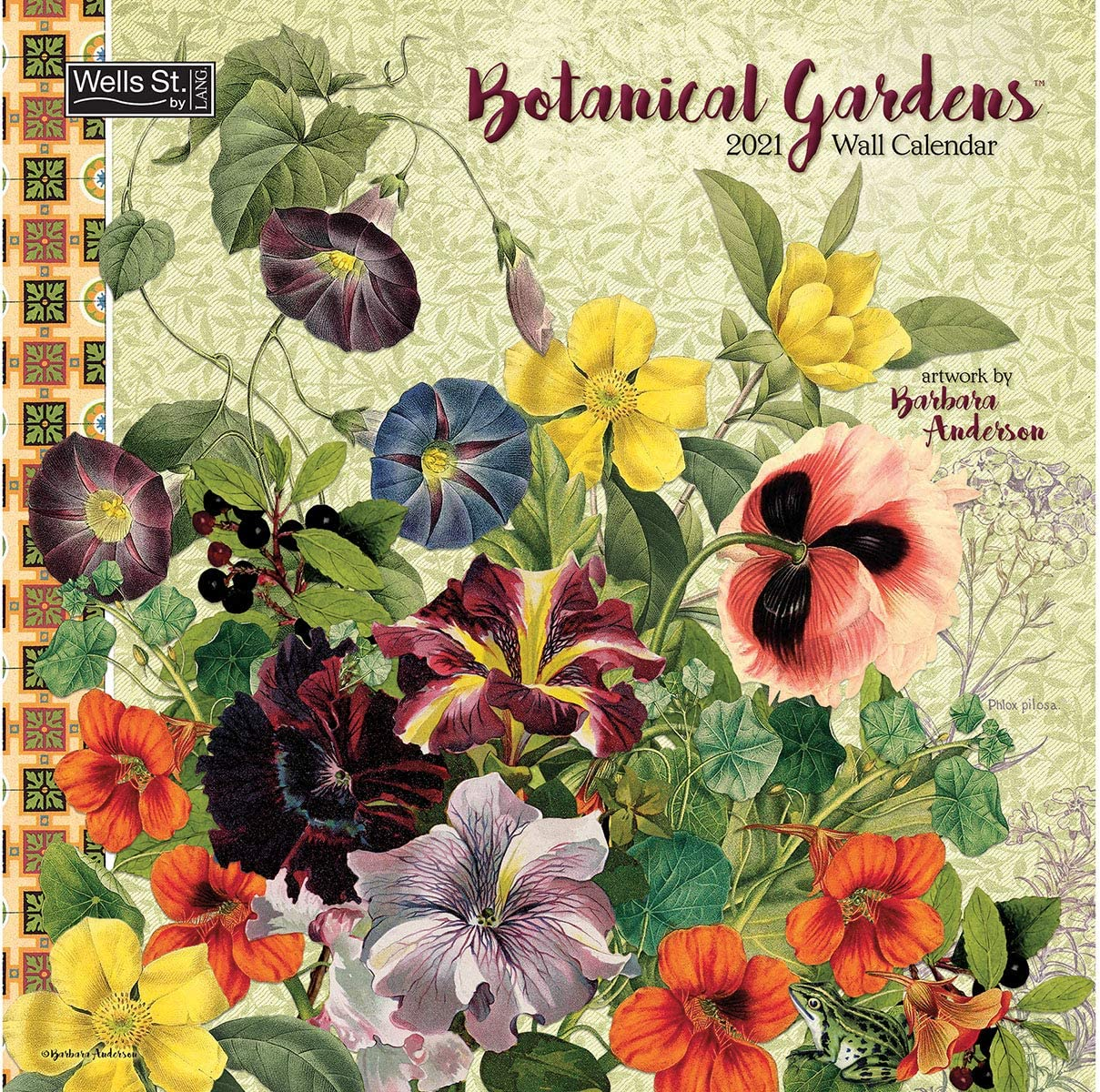 Wells Street by Lang WSBL Botanical Gardens 2021 12x12 Wall Calendar (21997001729)