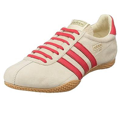 f7e2f339fd328 Adidas Originals Women's Titan Suede Running Shoe, Pale Star/Flmngo/Gum, 7  M: Buy Online at Low Prices in India - Amazon.in