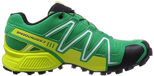 Salomon Speedcross 3 GTX -, Homme, Multicolore (Real Green/Gecko Gree), Taille 46