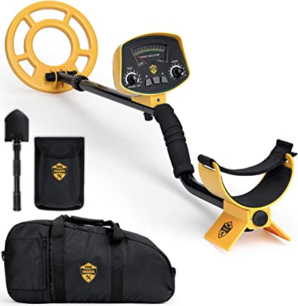 Metal Detector with Carry Bag & Shovel