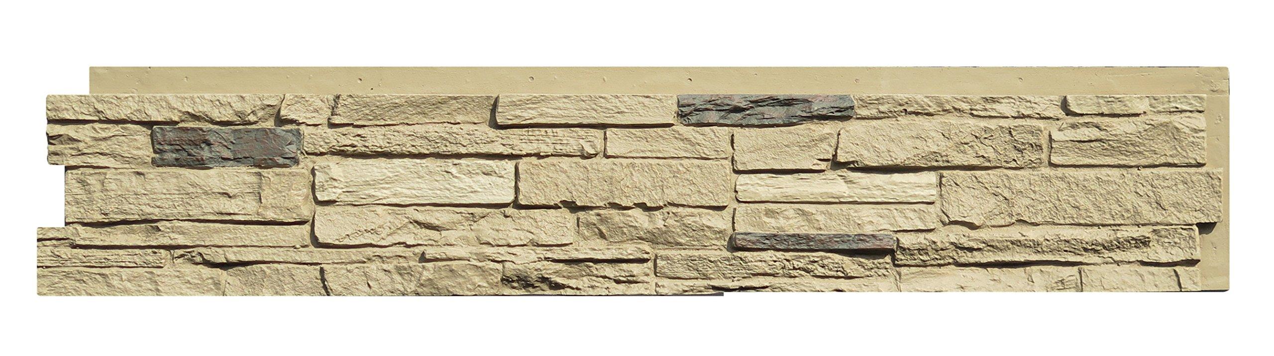NextStone Slatestone Panel Sahara (8 Panels Per Box)(17.12 sq.ft Per Box)