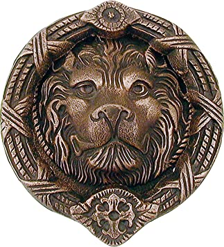 Medieval Lion Door Knocker  sc 1 st  Amazon.com & Medieval Lion Door Knocker - - Amazon.com pezcame.com