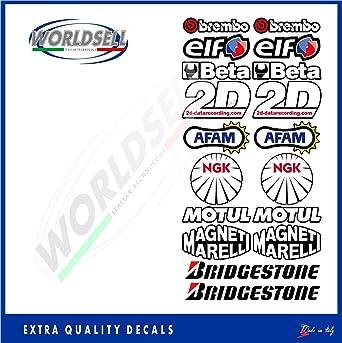 Pegatinas Kit patrocinador Technical 3 Moto GP SBK Honda Yamaha Ducati Suzuki BMW aprlia