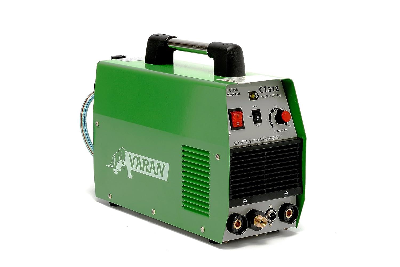 Varan Motors var-ct312-2 Máquina para soldar y cortar 3 en 1 TIG, MMA y plasma Varan CT-312 inverter + accesorios: Amazon.es: Bricolaje y herramientas