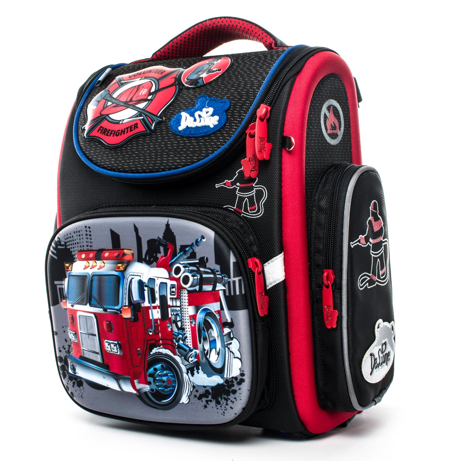 Galleon - Delune Kids Backpack For Boys And Girls Primary Schoolbag -  Individual Waterproof Orthopedic Noble c0f1c76bd372f