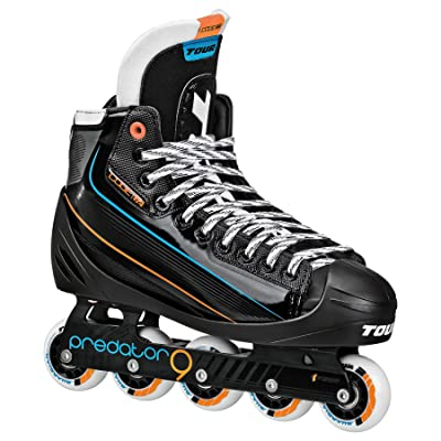 Tour Hockey Code 72 Inline Goalie Skate, Black : Sports & Outdoors