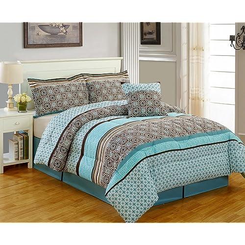 Turquoise Comforters Amazon Com