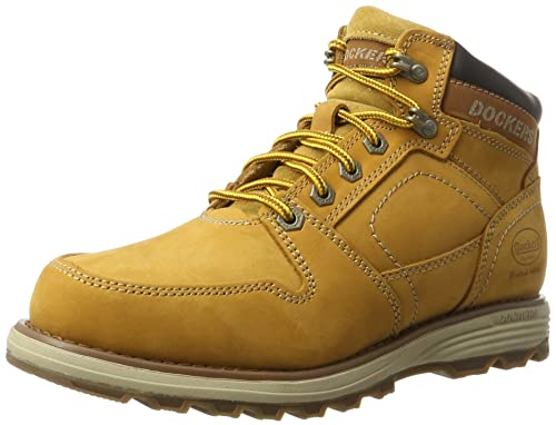 Dockers by Gerli 39ti001-302910, Botines para Hombre, Amarillo (Golden Tan), 45 EU: Amazon.es: Zapatos y complementos