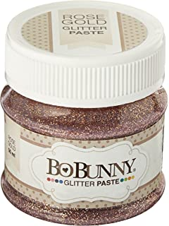 Bo Bunny 12740479 Double Dot Glitter Paste Rose Gold