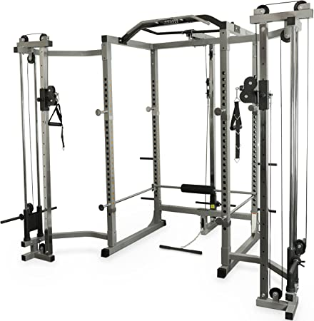 Valor Fitness BD-33 Heavy Duty Power Cage w//Available Bundle Options for a Complete Home Gym