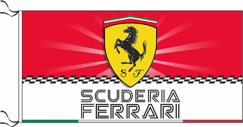 Scuderia Ferrari bandera: Amazon.es: Jardín