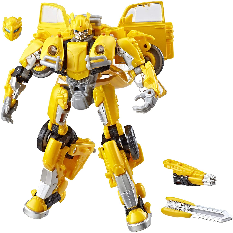 Hasbro Transformers Generations: Studio Series 18 Deluxe Bumblebee Movie  Bumblebee: Amazon.de: Spielzeug