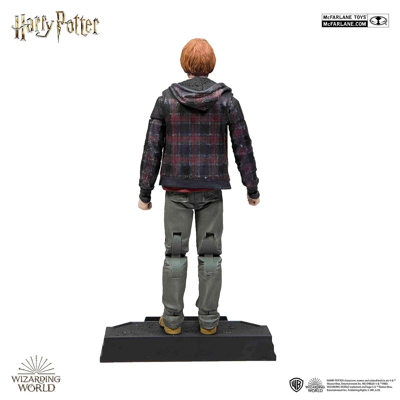 Amazon.com: McFarlane Toys Harry Potter Ron Action Figure ...